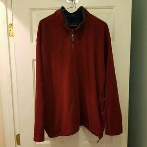 Dressy Quarter Zip Pullover Fleece